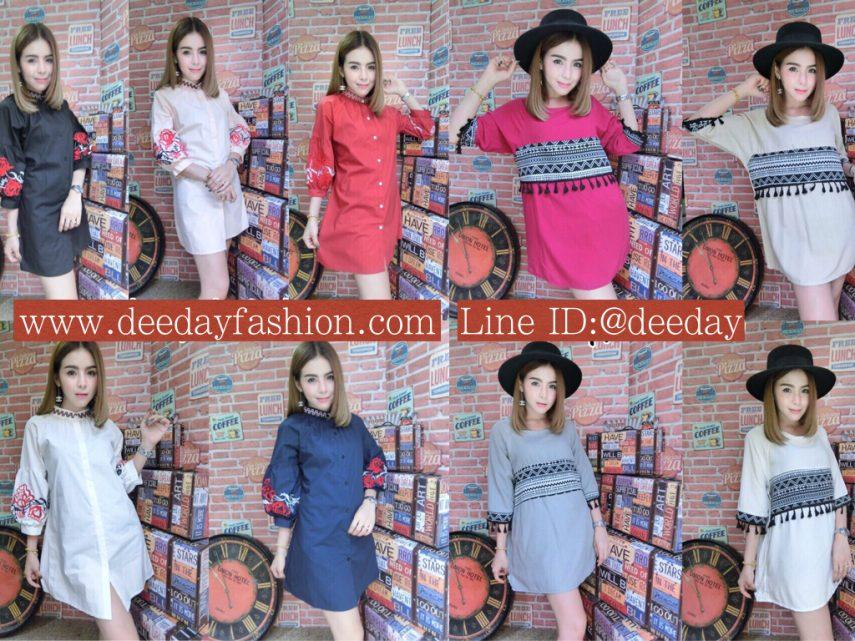 เสื้อผ้าแฟชั่น เดรสแฟชั่น ขายส่งเดรสแฟชั่น ประตูน้ำ ราคาถูก IMG_0039.002