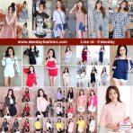 แฟชั่นเกาหลี เสื้อยืดสไตล์เกาหลีราคาถูก เสื้อแฟชั่นสวยๆ พร้อมส่ง