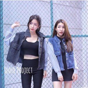 เสื้อยีนต์แฟชั่น ขายส่งเสื้อยีนต์แฟชั่นผู้หญิง เสื้อคลุมยีนต์แฟชั่นเกาหลี