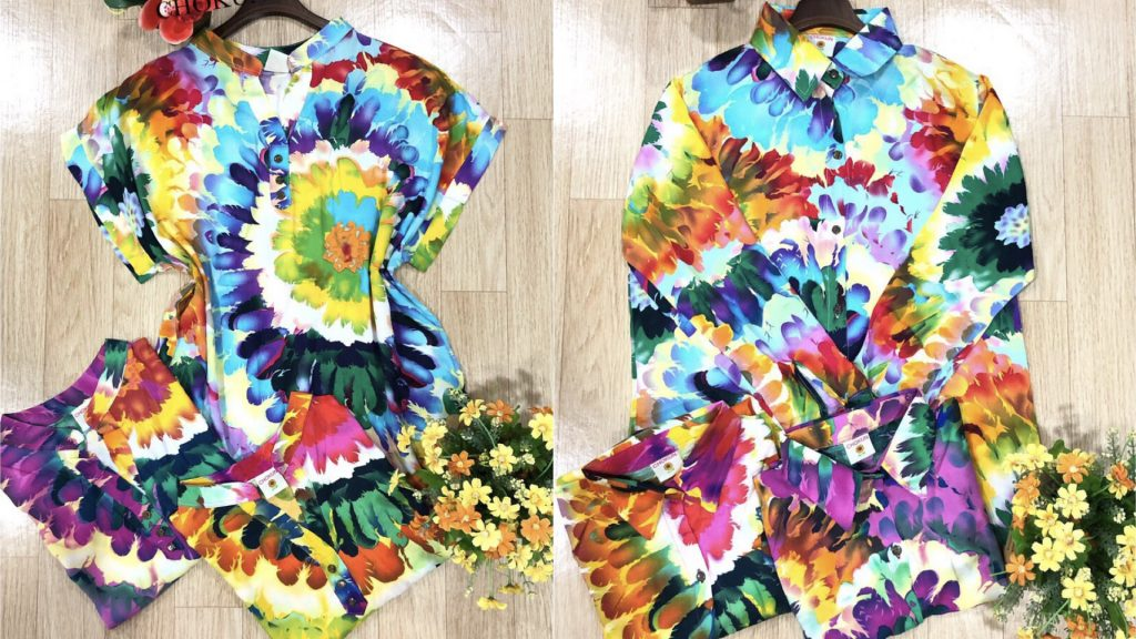 เสื้อฮาวาย เสื้อลายดอก