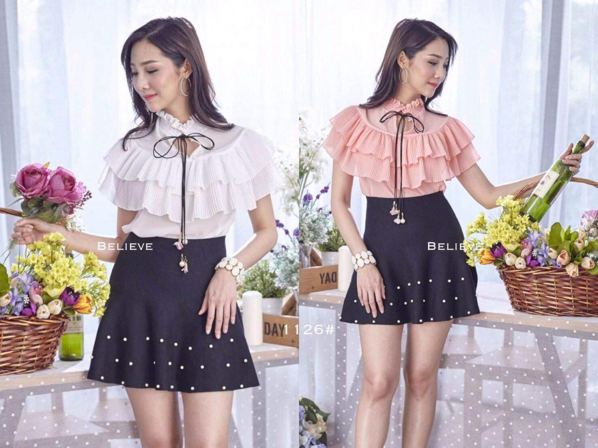 เสื้อผ้าแฟชั่นสไตล์เกาหลี ราคาเริ่มต้น 100 บาท อัพเดทแฟชั่นมาใหม่ทุกวัน เสื้อผ้าขายส่งออนไลน์ราคาถูก