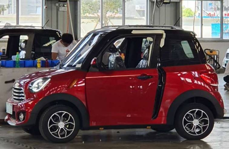 รถยนต์ ไฟฟ้าไซซ์มินิ