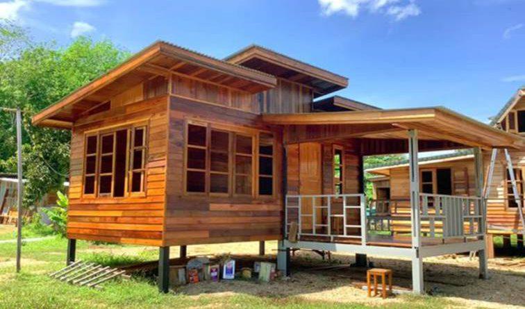 บ้านไม้สไตล์โมเดิร์น เหมาะสร้างไว้พักพิงยามเกษียณ