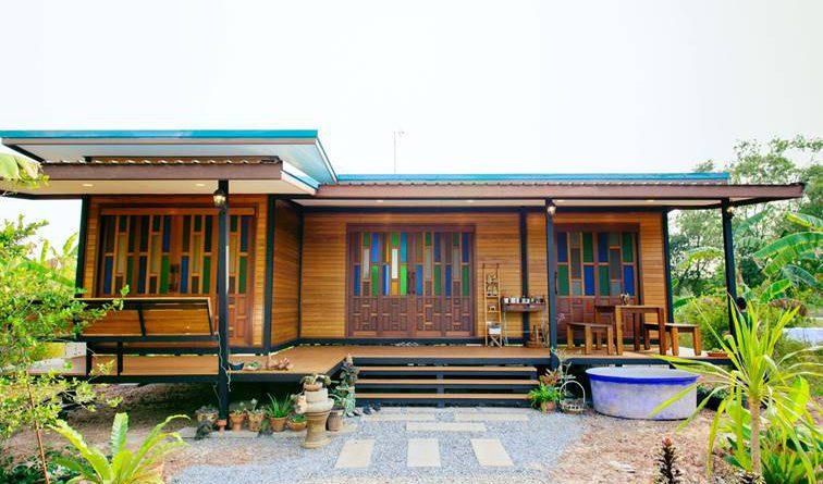 บ้านสวน SENIOR SERIES ในสไตล์ของ ไทนี่โฮม