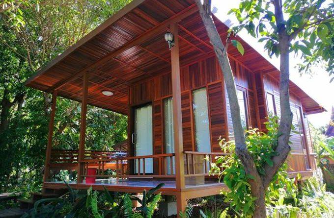 บ้านในสวนท่ามกลางธรรมชาติ บรรยากาศ สงบ ร่มรื่น