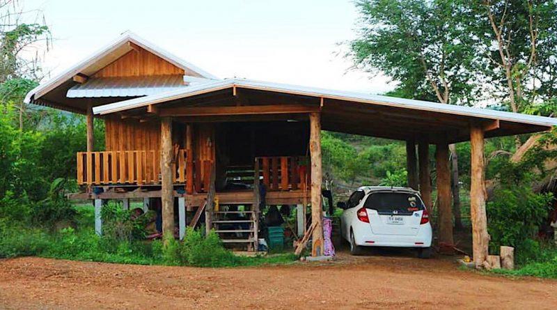 บ้านไม้หลังเล็ก สไตล์บ้านสวน ท่ามกลางธรรมชาติ เหมาะสร้างไว้พักผ่อน