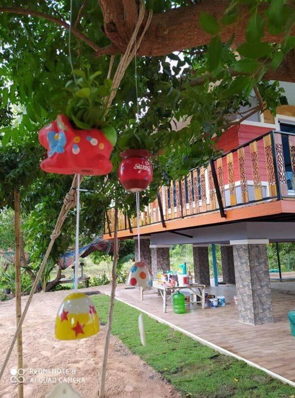 บ้านสวนหลังเล็ก ขนาดกะทัดรัด สวยงาม น่าอยู่มาก งบ 450000
