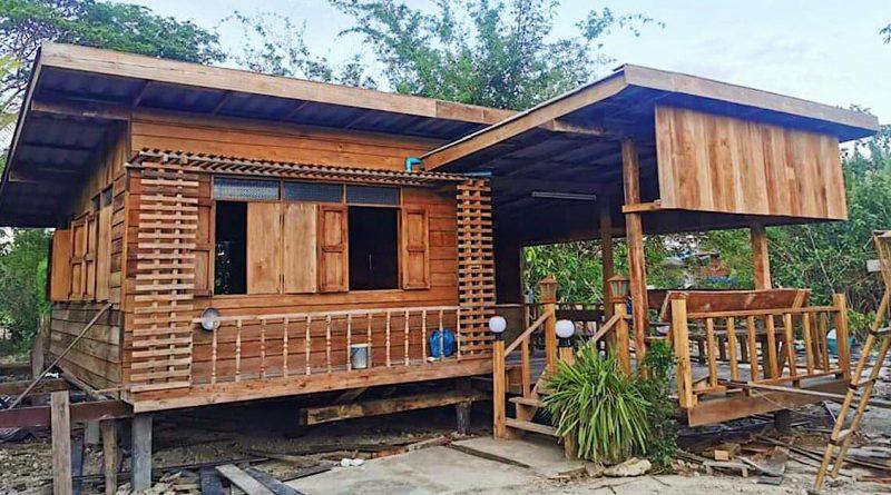 บ้านสวนน้อยกลางทุ่งนา ขนาดกะทัดรัด เหมาะสร้างไว้พักพิงยามเกษียณ