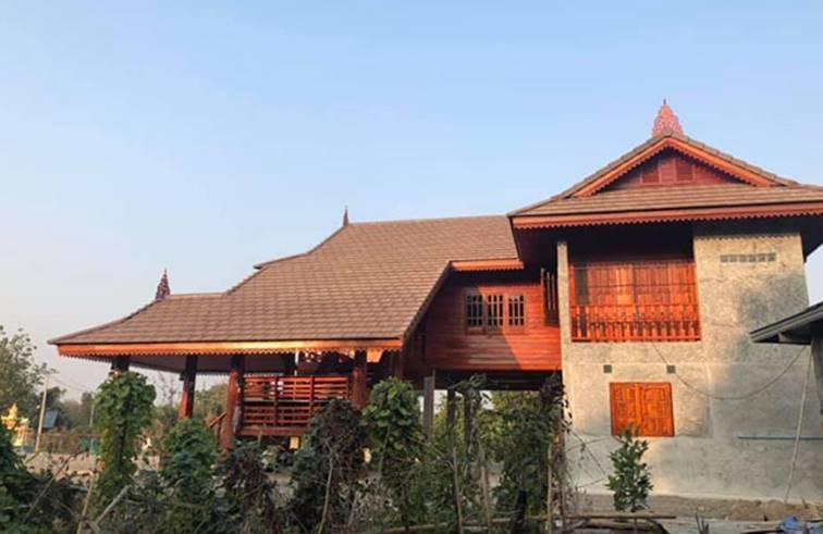 บ้านไทยประยุกต์ สวยงาม เต็มไปด้วยบรรยากาศของความเป็นไทย