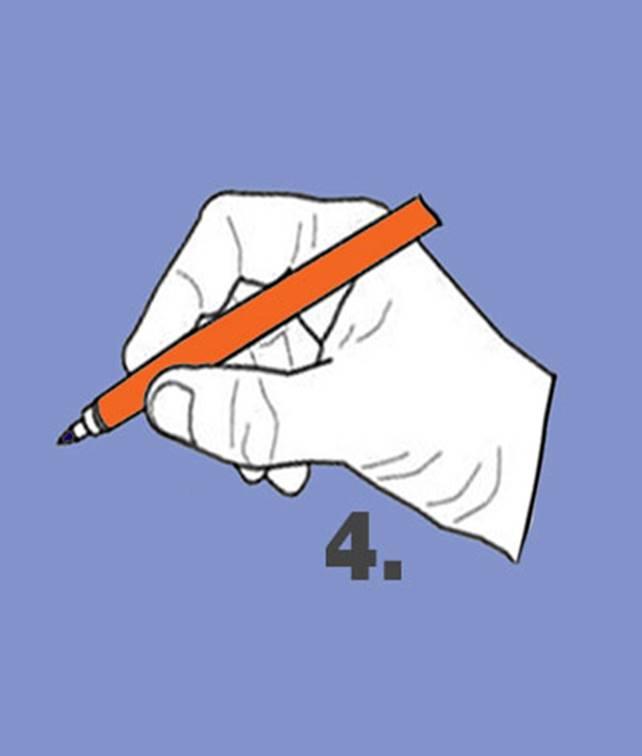 คุณจับปากกาแบบไหน บอกได้ว่าคุณเป็นคนมีบุคลิกยังไง ในการใช้ชีวิต