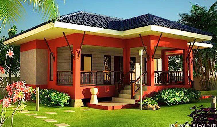 บ้านชั้นเดียวทรงมหาดไทย สวยน่าอยู่พื้นที่ภายในบ้านกว้าง
