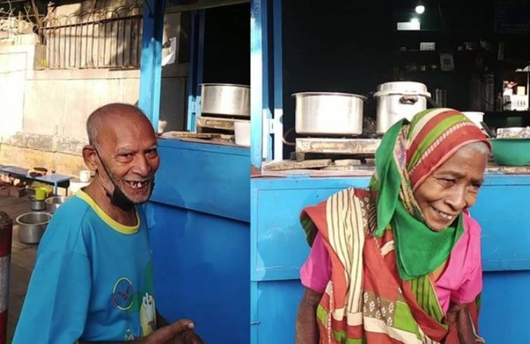 ตาวัย 80 ตักแกงทั้งน้ำตา หลังไม่มีลูกค้าเข้าร้าน ทั้งตัวเหลือเงิน 4 บาท!!
