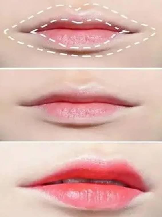 ทาปากยังไงให้เป็นกระจับ แก้ปัญหารูปปากไม่สวยให้เป็นปากยิ้ม